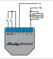 Shelly - Shelly Bypass für Dimmer und Relais - Zubehör