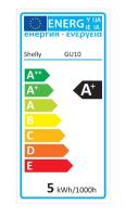 Shelly - Shelly DUO / Lampe (GU10) RGBW - WLAN