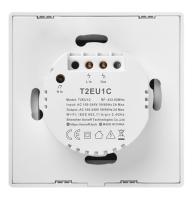 Sonoff - Smart Wall Switch T2EU1C-TX / 1-fach Taster - weiß - WLAN / 433MHz