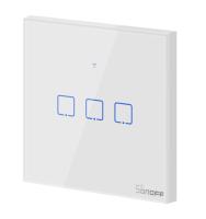 Sonoff - Smart Wall Switch T1EU3C-TX / 3-fach Taster - weiß - WLAN / 433MHz