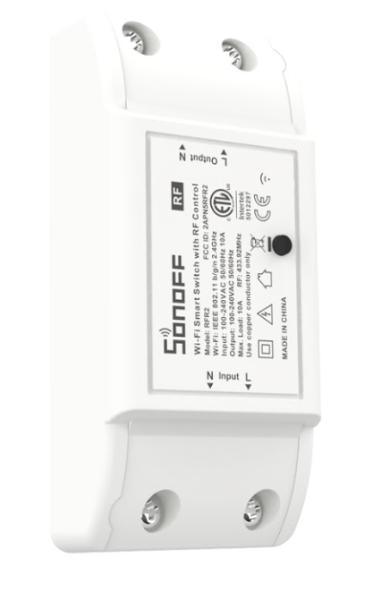 Sonoff - Smart Switch RFR2 / 1 Kanal Schaltaktor - WLAN / 433MHz