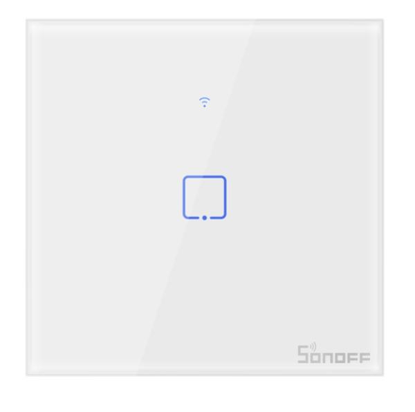 Sonoff - Smart Wall Switch T0EU1C-TX / 1-fach Taster - weiß - WLAN