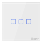 Sonoff - Smart Wall Switch T0EU3C-TX / 3-fach Taster -...