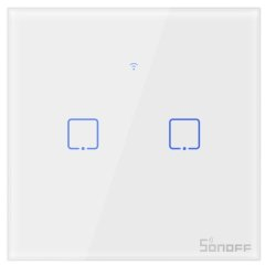 Sonoff - Smart Wall Switch T0EU2C-TX / 2-fach Taster -...