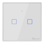 Sonoff - Smart Wall Switch T2EU2C-TX / 2-fach Taster -...