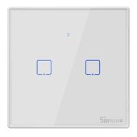 Sonoff - Smart Wall Switch T2EU2C-TX / 2-fach Taster -...