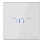 Sonoff - Smart Wall Switch T2EU3C-TX / 3-fach Taster -...