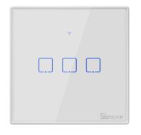 Sonoff - Smart Wall Switch T2EU3C-TX / 3-fach Taster -...