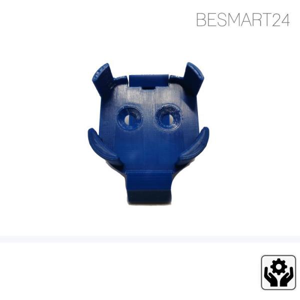 BESMART24 - DIN Rail Hutschienenadapter & Wandhalterung für Shelly 1 & 1PM - Zubehör