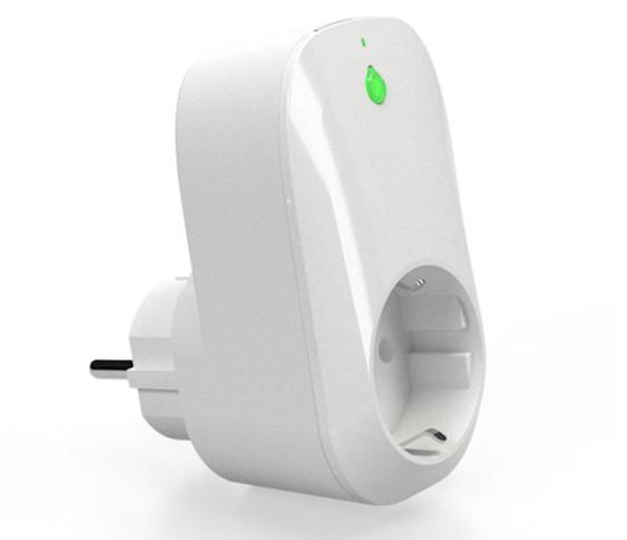 Shelly - Shelly Plug / Zwischenstecker (Typ F / Schuko) - weiß - WLAN