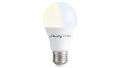 Shelly - Shelly DUO / Lampe (E27) Warmeiß - WLAN