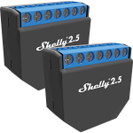 Shelly - Shelly 2.5 Double Relay Switch & Roller...